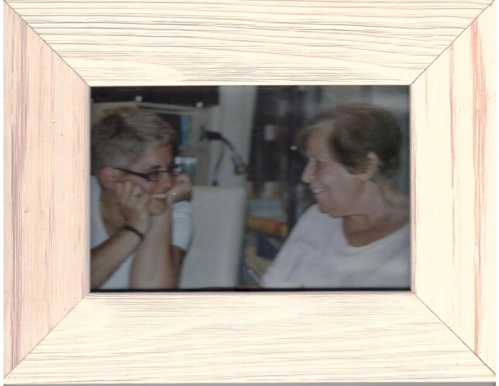 Gi e Mae conversando 2008